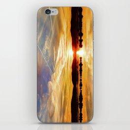 Hudson Sunset  iPhone Skin