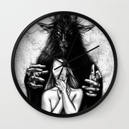 tell me everything Wall Clock