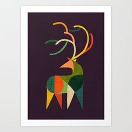 Antler Art Print