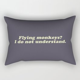 Flying Monkeys Rectangular Pillow