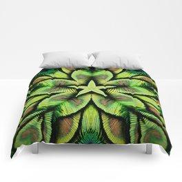 Estrella de pavo 2 Comforters