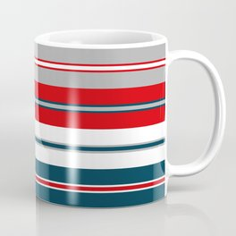 Nautical stripes Coffee Mug