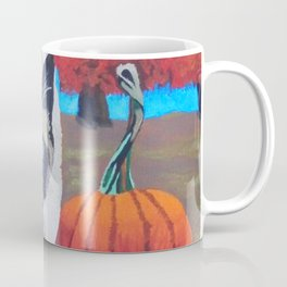 Harvest Kitty Coffee Mug