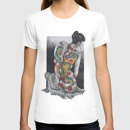 Dragons and Roses T-shirt