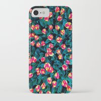 tulips iPhone & iPod Cases featuring Tulips by Madison Webb
