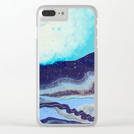 ribbon highway Clear iPhone Case