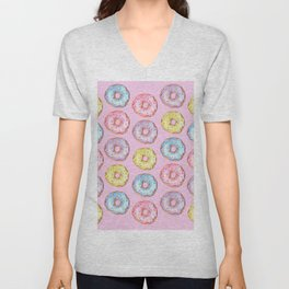 Donut Party Unisex V-Neck