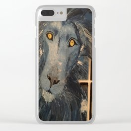 Lion and the Lamb Clear iPhone Case