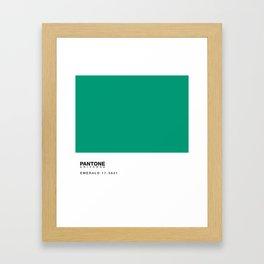 pillow pantone Framed Art Print