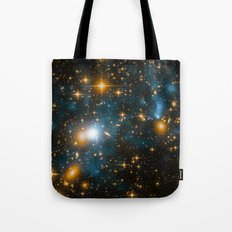 Cosmos 2, When stars collide (enhanced version) Tote Bag