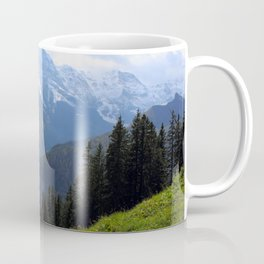 Swiss Alps View Coffee Mug