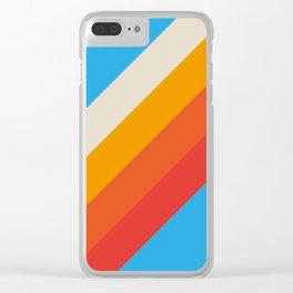 Classic Retro Gefjun Clear iPhone Case