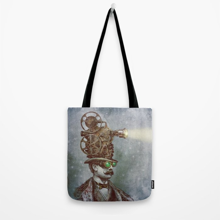 The Projectionist (colour option) Tote Bag