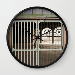 Locked Out Wall Clock