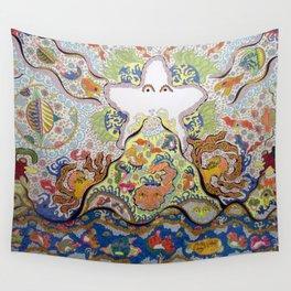 starfish volcano Wall Tapestry
