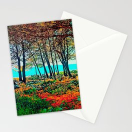 Wonderful Sea Grove Stationery Cards