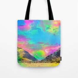 Truly High Mountains Tote Bag