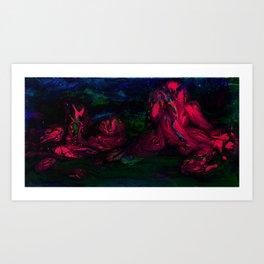 Kinky Art Print