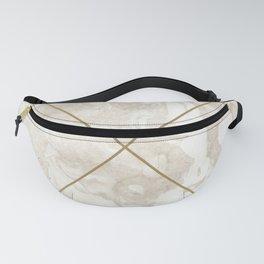 Gold & Marble 01 Fanny Pack