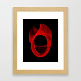 Ring Unraveling II Framed Art Print