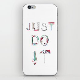 JUST DO IT iPhone Skin