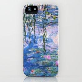 Claude Monet - Water lilies iPhone Case