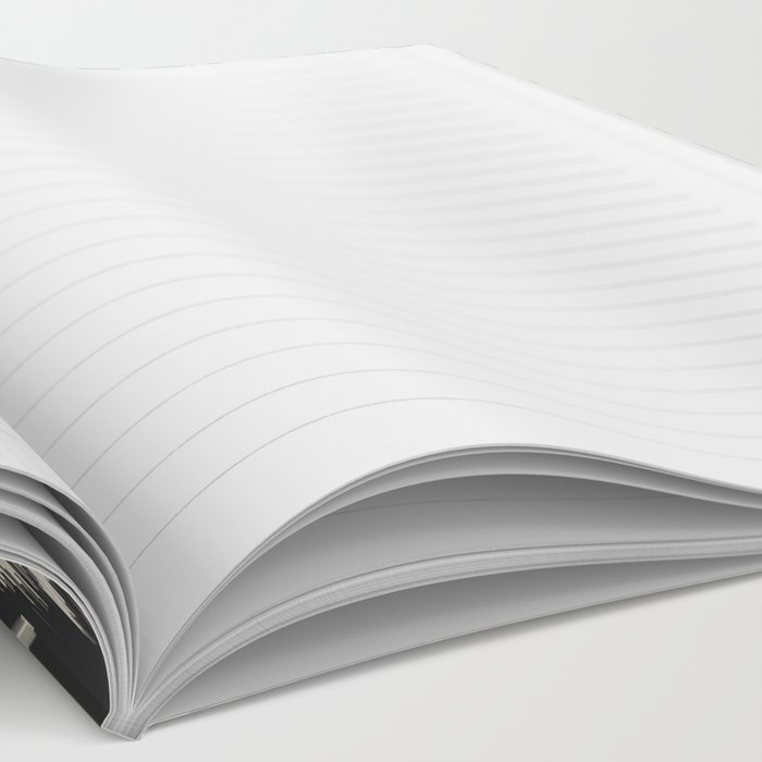 Black & Cream Tribal Ikat Notebook