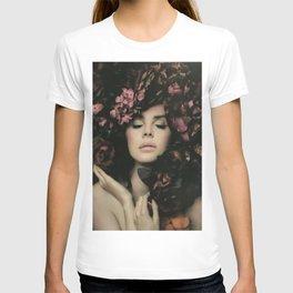 lana del ray  - Canvas Print  T-shirt