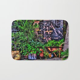 Barrel Garden Bath Mat