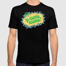 Yo Gamma Gamma!  Black Mens Fitted Tee MEDIUM