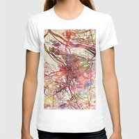 portland T-shirts featuring Portland by MapMapMaps.Watercolors