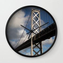 Bay Bridge in the Sun Wall Clock