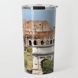 The Coliseum Rome Travel Mug