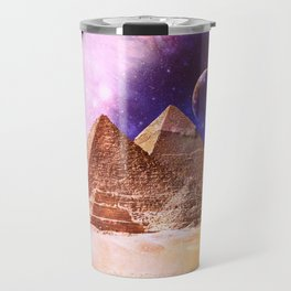Galaxy Pyramids Travel Mug