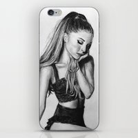 ariana grande iPhone & iPod Skins featuring ariana by Stella Joy