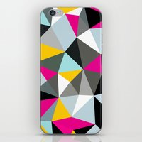 comic book iPhone & iPod Skins featuring Comic Book Tris by Beth Thompson