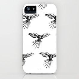 Guacamaya pattern iPhone Case