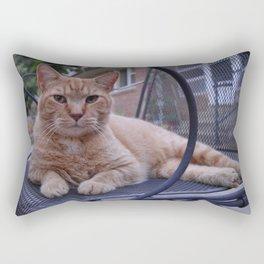 Relaxing Cat Rectangular Pillow