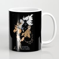 will graham Mugs featuring #Someone Please Help Will Graham by Ravenno