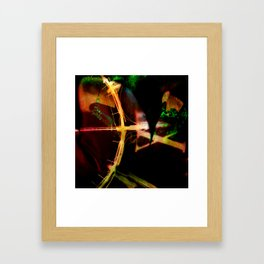 Arc of Time Framed Art Print