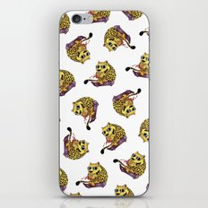Skating Cheetah iPhone & iPod Skin