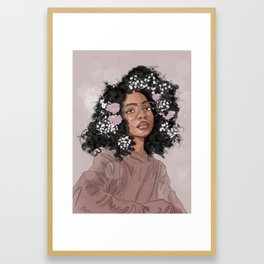 Blossom Beauty Framed Art Print