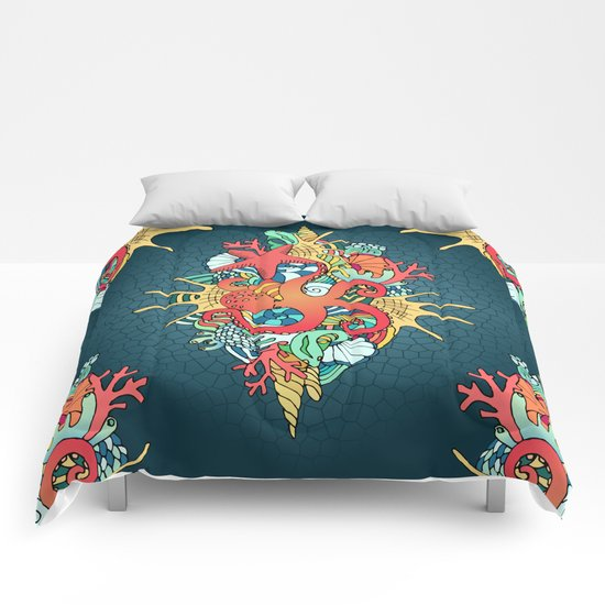 Coral reef Comforters