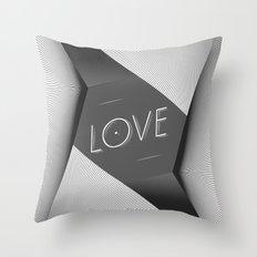 LOVE_ Throw Pillow