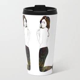 Marble Mermaid Travel Mug
