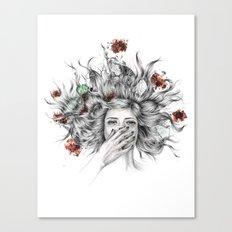 It Overflows Canvas Print