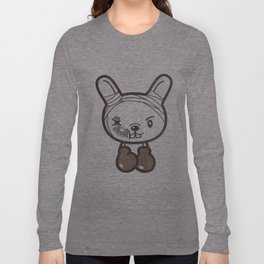 Boxing Bunny Long Sleeve T-shirt