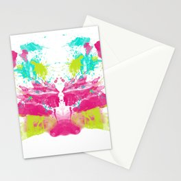 Personality Test: Pink Blot Stationery Cards