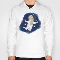niall Hoodies featuring Space Niall by Ashley R. Guillory