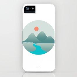 The Left Coast (Ridge) iPhone Case